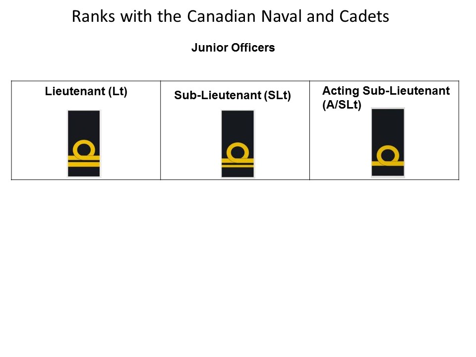 Promotions | Royal Canadian Sea Cadet Corps Centurion