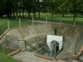 Entrance to underground trenches